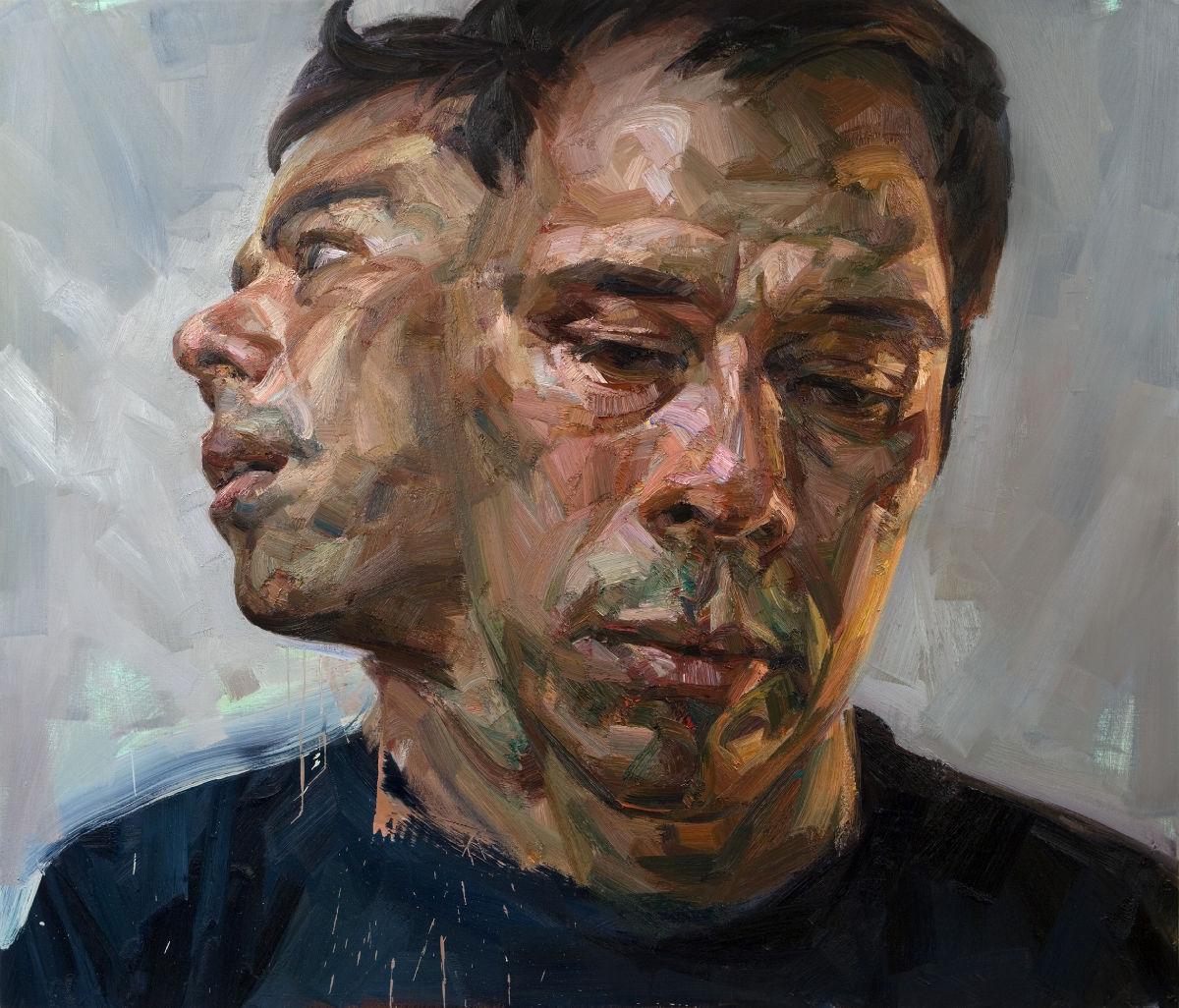 Tai Shan Schierenberg : Selfportrait as Janus  Tai Shan Schier...