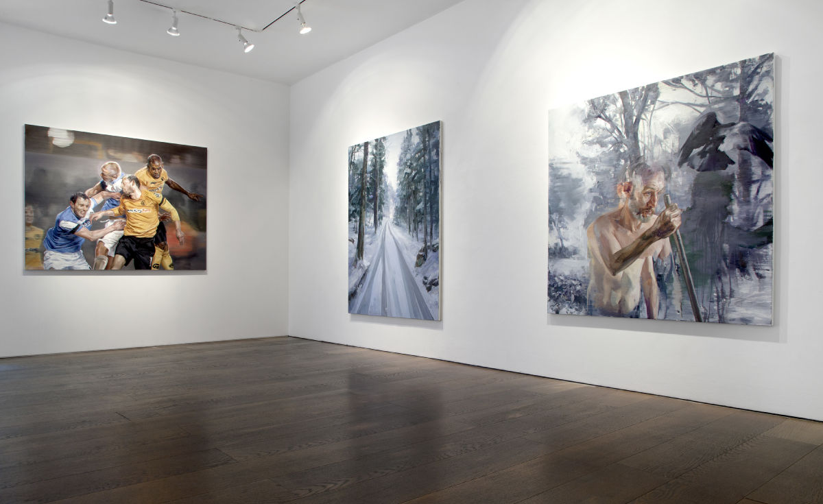 "Installation Shot ""Winterreise"" 2014"