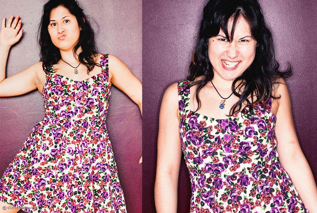 Lisa Oland   Model, pastry chef, hilairous.