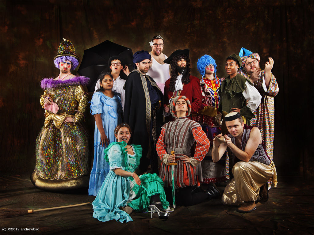 SMALLWORLDERS     An Epic Pantomime