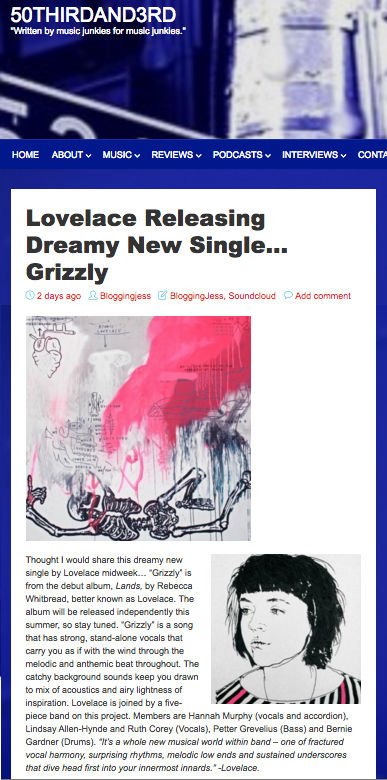 50thirdand3rd Single 'Grizzly' review