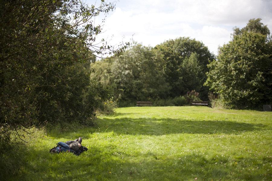 Sleeping on the Heath