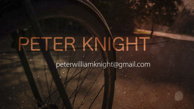 Peter Knight,  After Effects Showreel