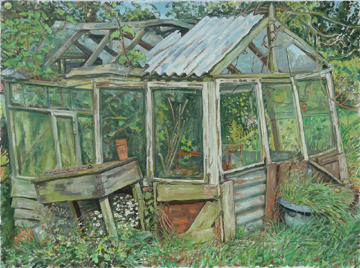 Oil Paintings Greenhouse
