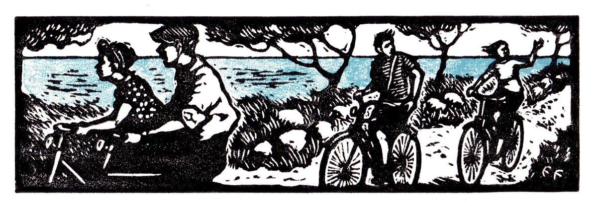 Cyclists, France