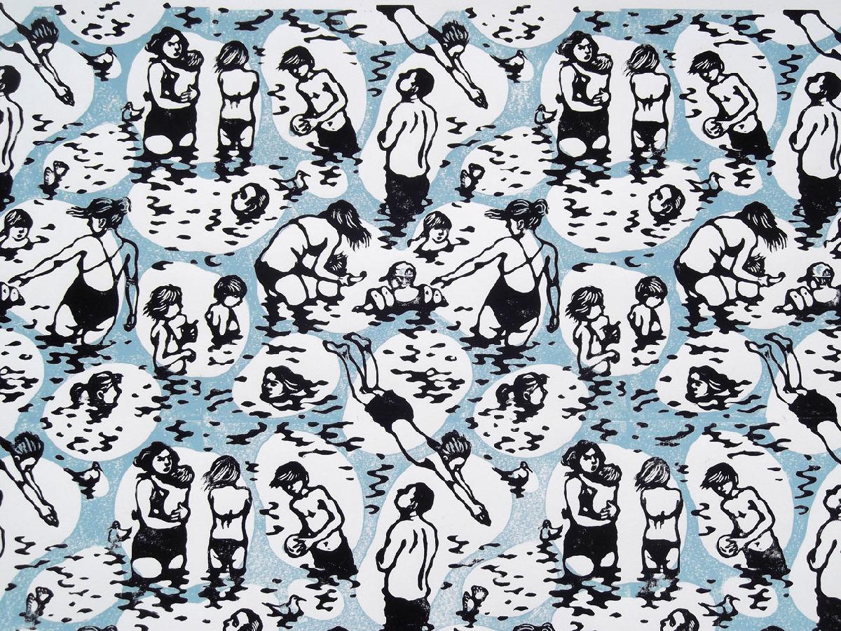 Bathers (detail)