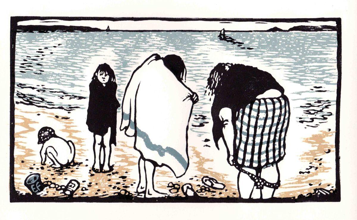 Bathers, Lee Bay