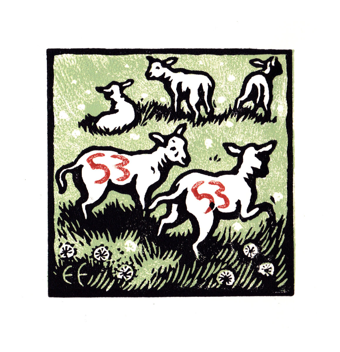April, Malcolm's Lambs