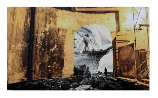 Lynn Dennison, 'Shipwreck', 42 x 59.4cm, Giclee Print on Southbank Smooth 310gsm, Image: Courtesy of the Artist, Edition of 30 + 3 Aps  Available from the RBS website, please follow the link below  http://sculptureshock.rbs.org.uk/prints