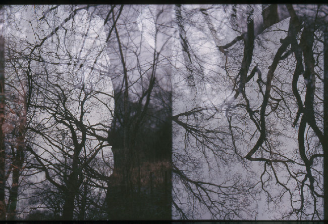 Double exposure - 35mm and half frame 35mm